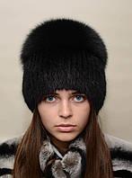 """Женская меховая шапка из ондатры """"Перо"""", фото 1"""