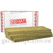 Базальтовая вата IZOVAT 135 (135 пл), 100мм, 1.2 м.кв.