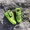 """Мужские кроссовки в стиле Nike Air Force 1 Low Off-White """"Green. """" ( в стиле Найк ), фото 3"""