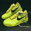 """Мужские кроссовки в стиле Nike Air Force 1 Low Off-White """"Green. """" ( в стиле Найк ), фото 6"""