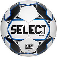 МЯЧ ФУТБОЛЬНЫЙ SELECT CONTRA FIFA (015) БЕЛО/СИНИЙ РАЗМЕР 5 (3655146002)
