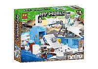 """Конструктор Lari (Bela) 11266 Minecraft """"Ледяной Дракон"""", 365 детали. Аналог Лего Майнкрафт, фото 1"""