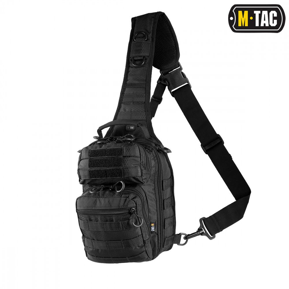 M-Tac Сумка Urban line City Hunter Hexagon Bag чорна