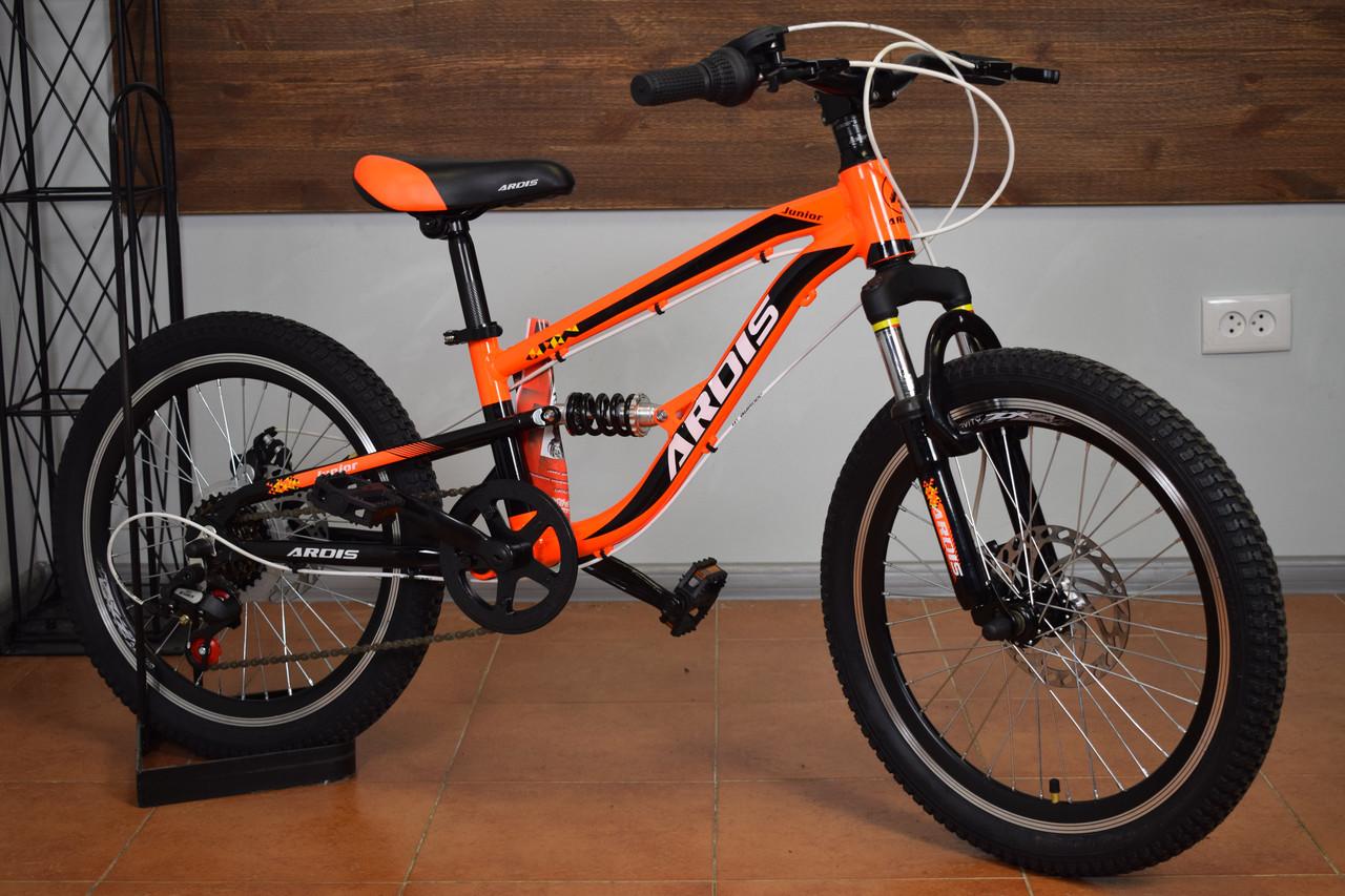 """Алюминиевый детский горный велосипед 20"""" Ardis Junior"""
