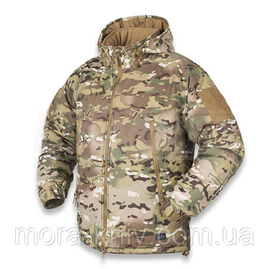 Куртка Helikon Level 7 Apex Climashield 100g Black  Camogrom S, M, L, XL, XXL (KU-GUN-FM-01)