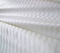 Простынь 145х220см., белого цвета, страйп сатин, пр-во Турция