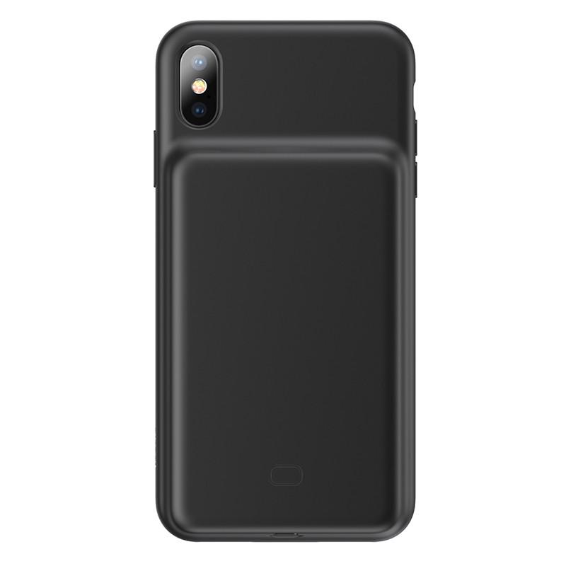 Чехол Аккумулятор для iPhone X/XS 3300 mAh Baseus (ACAPIPH58-ABJ01) Черный