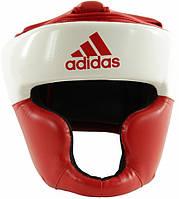 Шлем тренировочный Adidas Response Standard, бело-красный