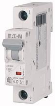 Автоматичний вимикач 16А HL-C16/1 194731 EATON (Moeller)