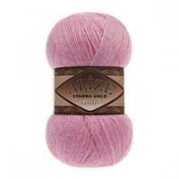 ANGORA GOLD SIMLI 39 розовый леденец - 20% шерсть, 5% металлик, 75% акрил