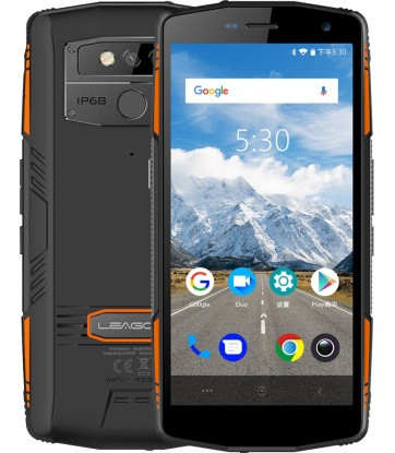 "Смартфон Leagoo xRover 6/128GB Black, 13+5/8Мп, 2sim, 5.72"" IPS, 5000mAh, 4G, 8 ядер, IP68"