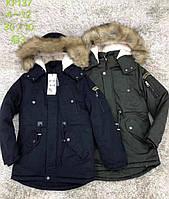 Куртка на меху для мальчиков S&D оптом, 8-18 лет. Артикул: KF137
