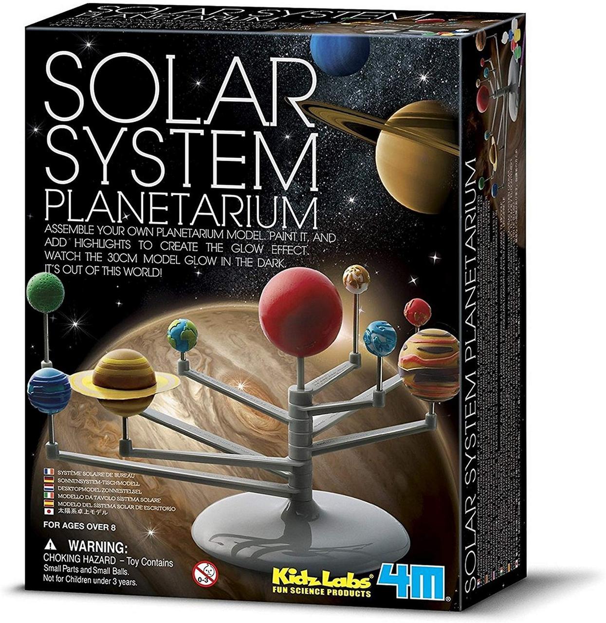 Набор для опытов Солнечная система-планетарий 4M (00-03257)