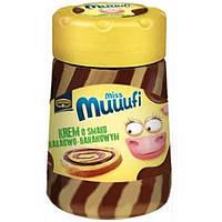 Шоколадная крем-паста Kruger Miss Muuufi с шоколадно-банановым вкусом, 400 г