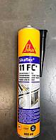 Полиуретановый герметик Sika Sikaflex-11FC+ цвет черный 300 мл, фото 1