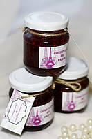 Конфитюр (баночка с натуральным французским вареньем - малина)