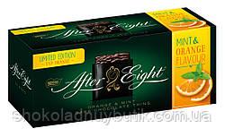 Шоколадные мятные пластинки After Eight,Orange flavour 200г.