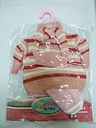 Зимняя одежда для куклы Baby Doll 42см warm baby, фото 3