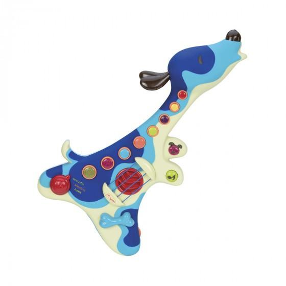 "Музична іграшка ""Battat"" -  ПЕС-ГІТАРИСТ (звук), 3 режима гры."