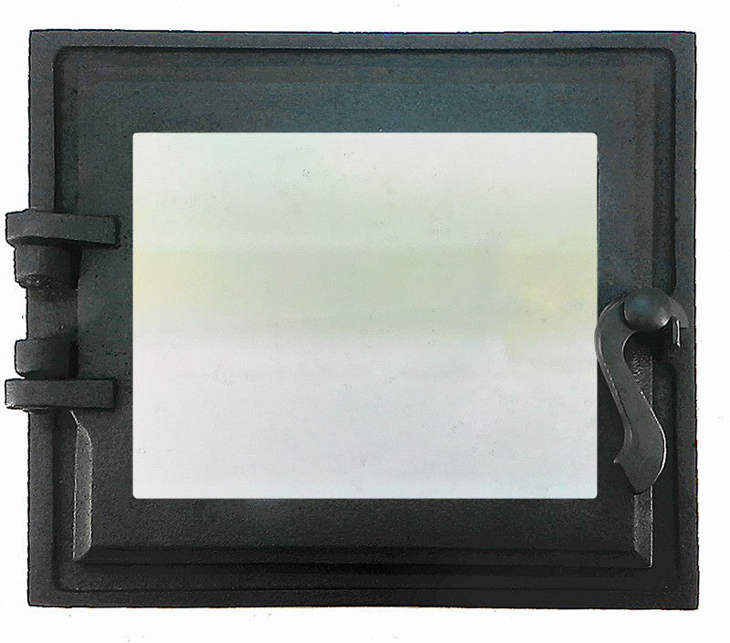 Топочная дверца для печи и камина 102867, 330х360 мм