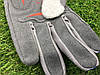 Велоперчатки с пальцами Ромб синие М, фото 4