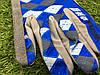 Велоперчатки с пальцами Ромб синие М, фото 5
