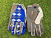 Велоперчатки с пальцами Ромб синие М, фото 3