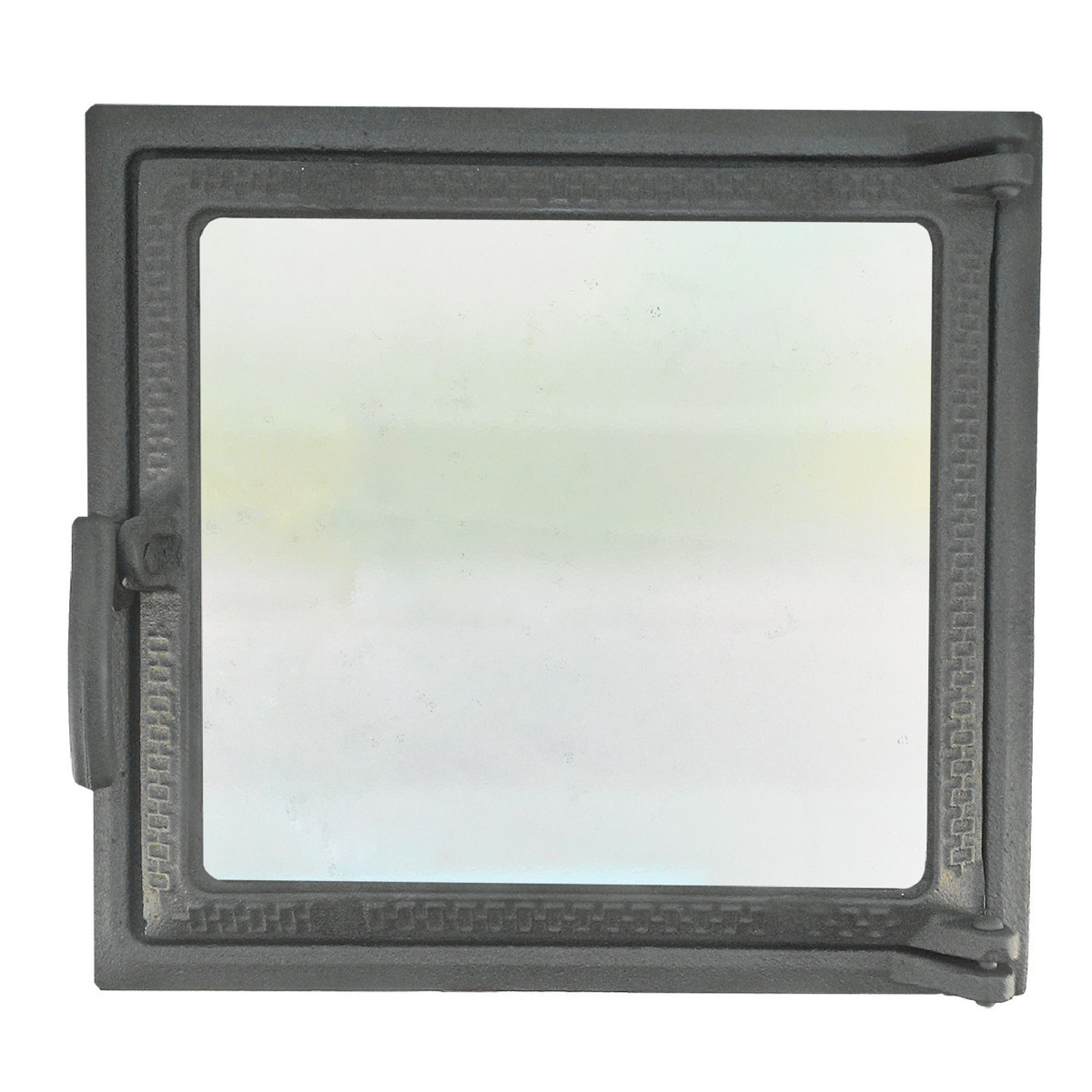 Топочная дверца для печи и камина со стеклом 102868, 270х290 мм
