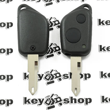 Корпус ключа для пежо (PEUGEOT) 306, 2 кнопки лезвие NE 73, фото 2