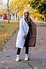 Женская длинная двухсторонняя теплая зимняя куртка в разных расцветках