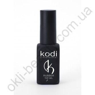 Каучуковое верхнее покрытие Kodi Professional  для гель лака Rubber Top 12 мл.