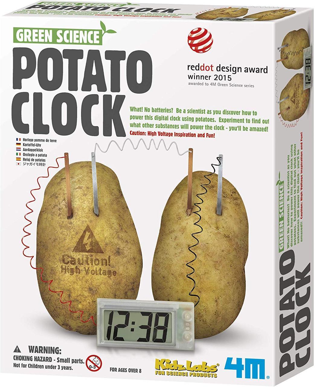 Набор для опытов Картофельные часы 4M (00-03275)