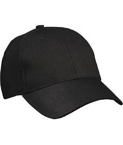 Бейсболка Чёрный
