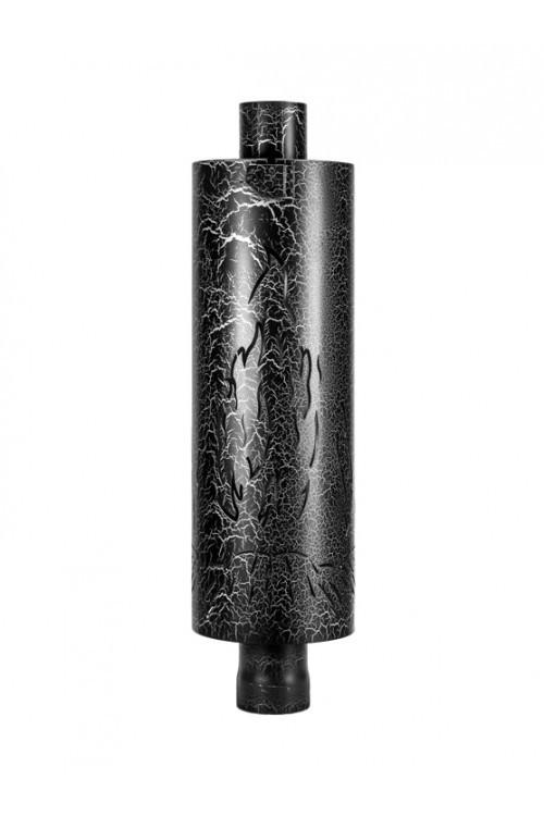Дымоход - конвектор с резной корзиной и регулятором тяги