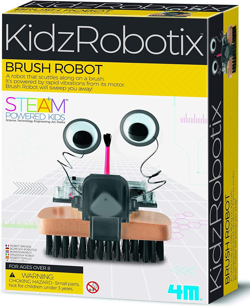 Набор для опытов Робот-уборщик 4M (00-03282)