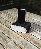 Черно- белая колонка Настольная подставка для телефона на улицу Усилитель звука Звуковая подставка Еко Холдер