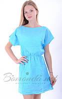 Платье короткое летнее прошва. Арт - 370/10 Купить женские платья от производителя