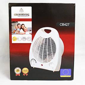 Тепловентилятор Дуйчик Heater CB 427 Crownberb бытовой для комнаты напольный переносной, фото 2