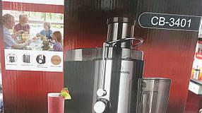 Соковыжималка  CB 3401 Соковыжималка для овощей и фруктов Электрические соковыжималки, фото 2