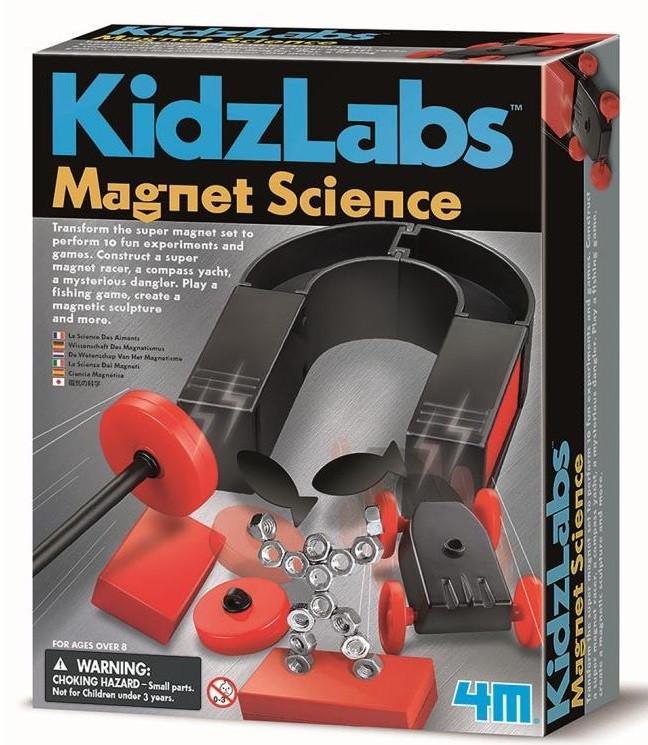 Набор для опытов Опыты с магнитами 4M (00-03291)