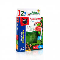 Игра Vladi Toys с маркером Пиши и вытирай Цифры и примеры VT5010-14 (укр)