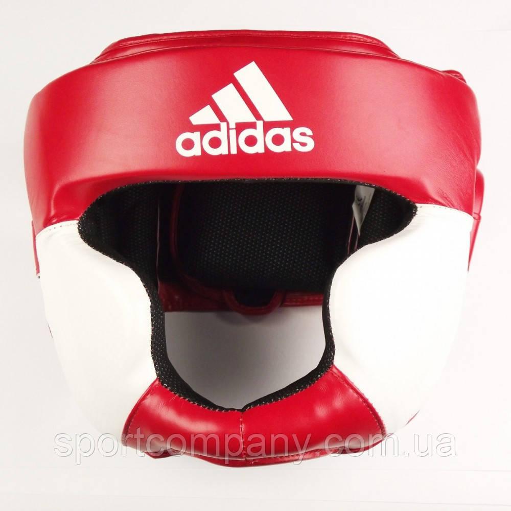 Шлем тренировочный Adidas Response , красно-белый