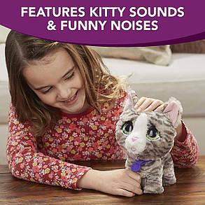 Интерактивный питомец на поводке Кошка FurReal Friends Walkalots Big Wags, Kitty, фото 2