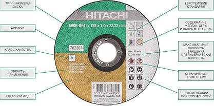 29 Профессиональные абразивные отрезные диски торговой марки Hitachi HiKOKI
