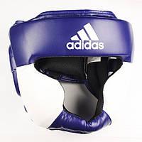 Шлем тренировочный Adidas Response, сине-белый
