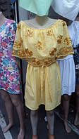 """Платье х/б """"Гвоздика"""". Арт - 376/10 Купить женские платья от производителя"""