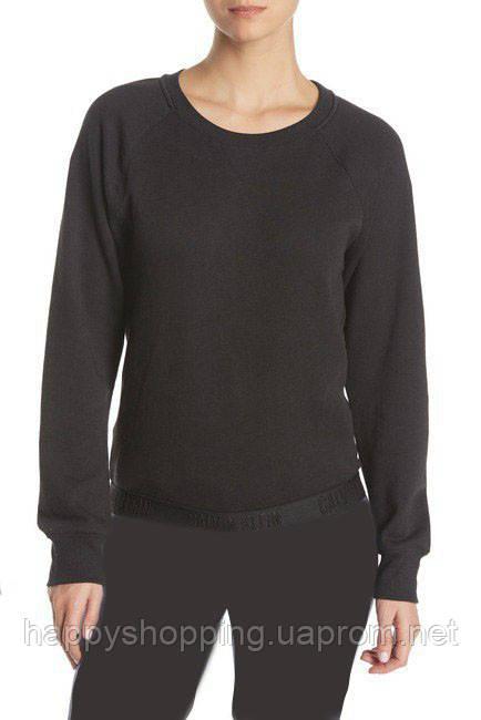 Женский оригинальный черный спортивный костюм популярного бренда Calvin Klein