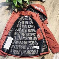 Куртка ЗИМА Стоун Айленд 4 кольори. Топ якість! магазин Stone Island Нове надходження стоун копія топ. XXL