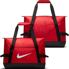 Спортивная сумка Nike Academy Team Duffel Small BA5505-657 красно-черная (Оригинал)