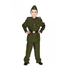 Костюм Военного солдата для мальчика карнавальный